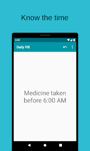 Screenshot of Daily Pill