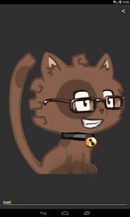Screenshot of Cat Avatar Generator