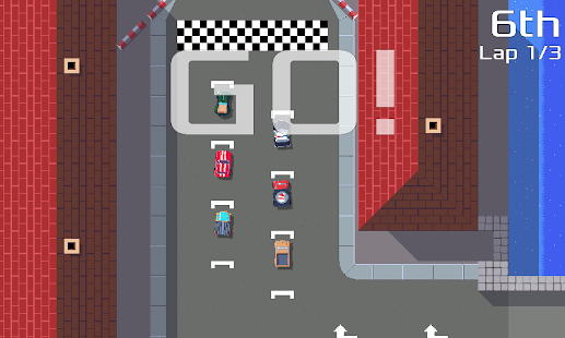 Screenshot of Pixel Wheels