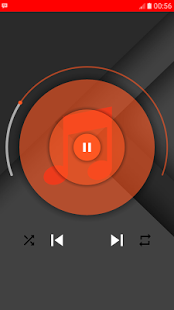 Screenshot of PlayMusic Widget (sample)