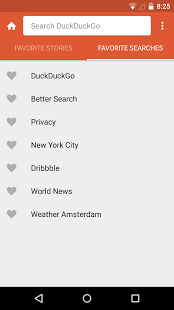 Screenshot of DuckDuckGo Privacy Browser