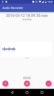 Audio Recorder - Record audio files