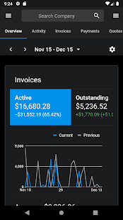 Screenshot of Invoice Ninja - Open-Source Invoices, Expenses and
