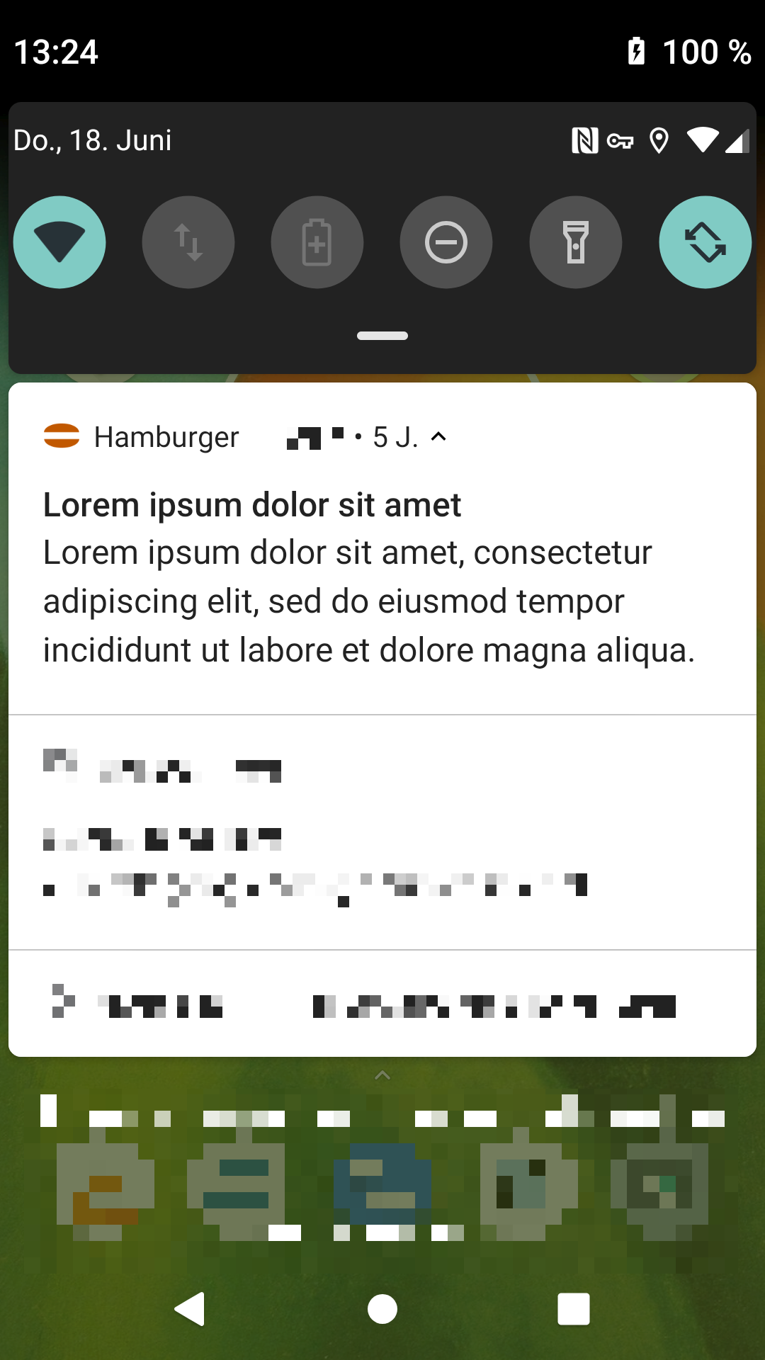 Screenshot of FreeHamburger
