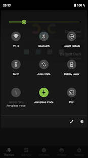 Screenshot of DarkCroc Theme