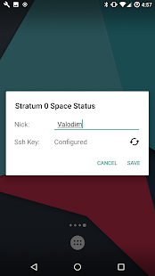 Screenshot of Stratum 0 Widget