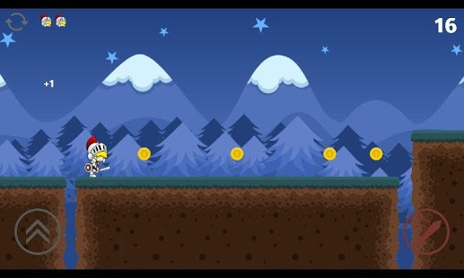 Screenshot of Mighty Knight