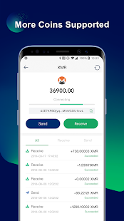 Screenshot of WooKey Wallet