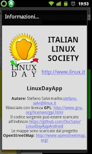 Screenshot of LinuxDayOSM