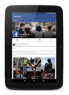 Screenshot of SlimSocial for Facebook