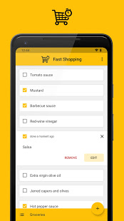Screenshot of Fast Shopping
