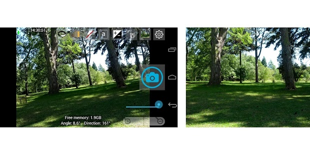 Screenshot of Open Camera