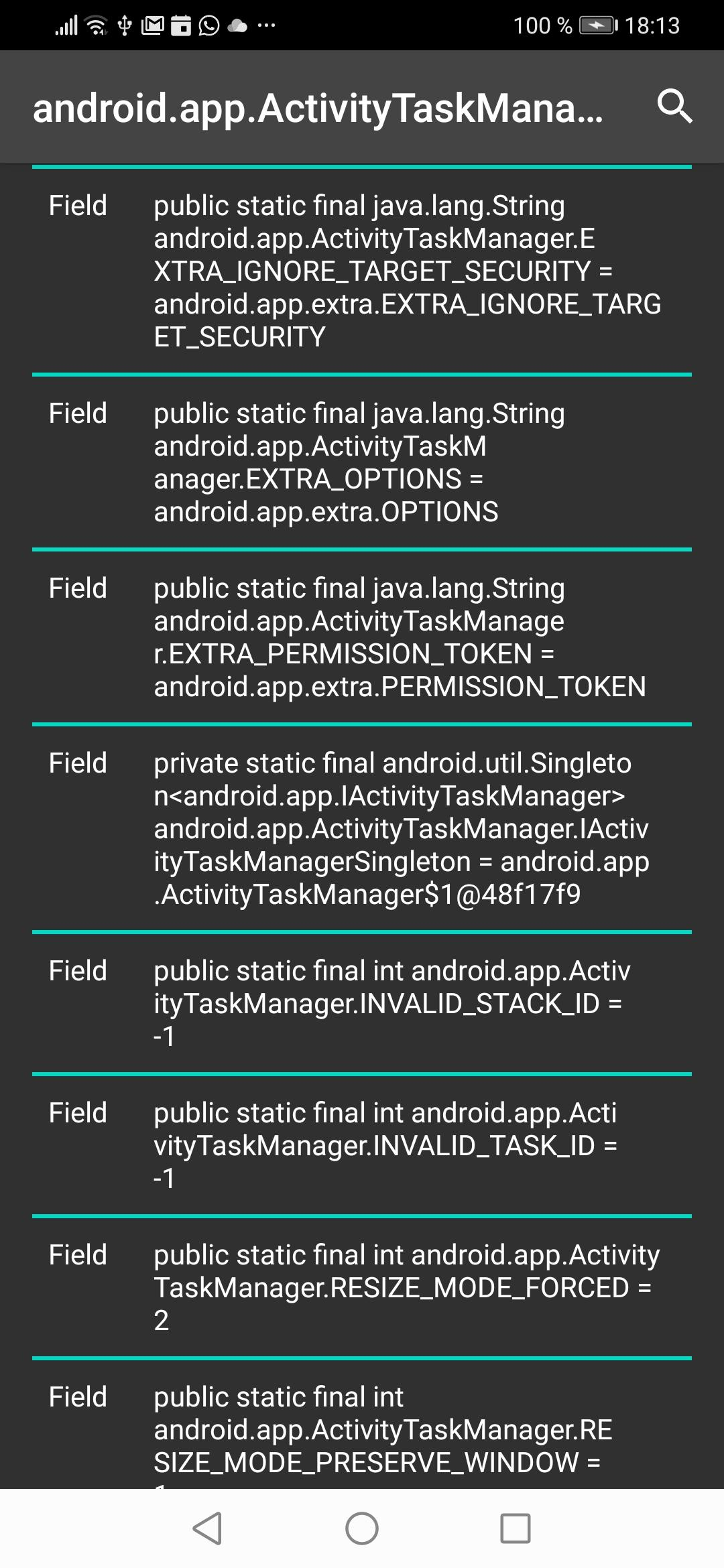 Screenshot of BinderFuzzy - Pentest Android Services