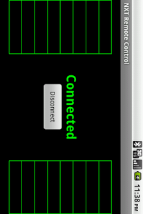 Screenshot of NXT Remote Control