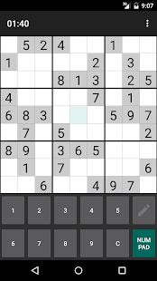 Screenshot of Open Sudoku