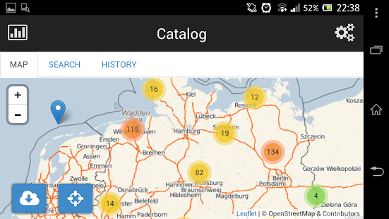 Screenshot of MobileSWC