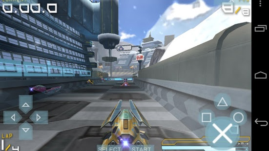 Screenshot of PPSSPP