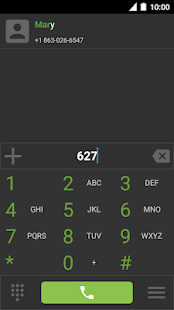 Screenshot of Emerald Dialer